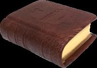Псалтирь подарочная на русском языке, карманная, золотой обрез, кожа